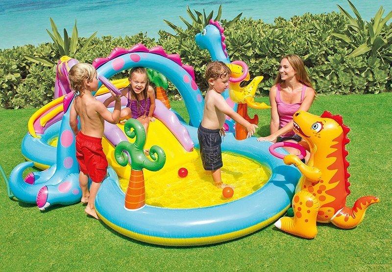 3歳以上の子供が遊べるビニールプール