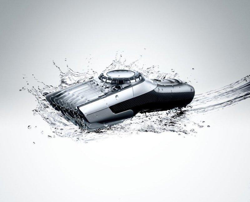 水に濡れてもOKな防水タイプのバリカン