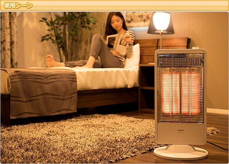 即暖性の高い遠赤外線カーボンヒーター