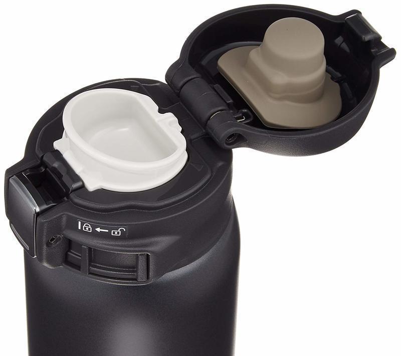 ワンタッチタイプの水筒の画像