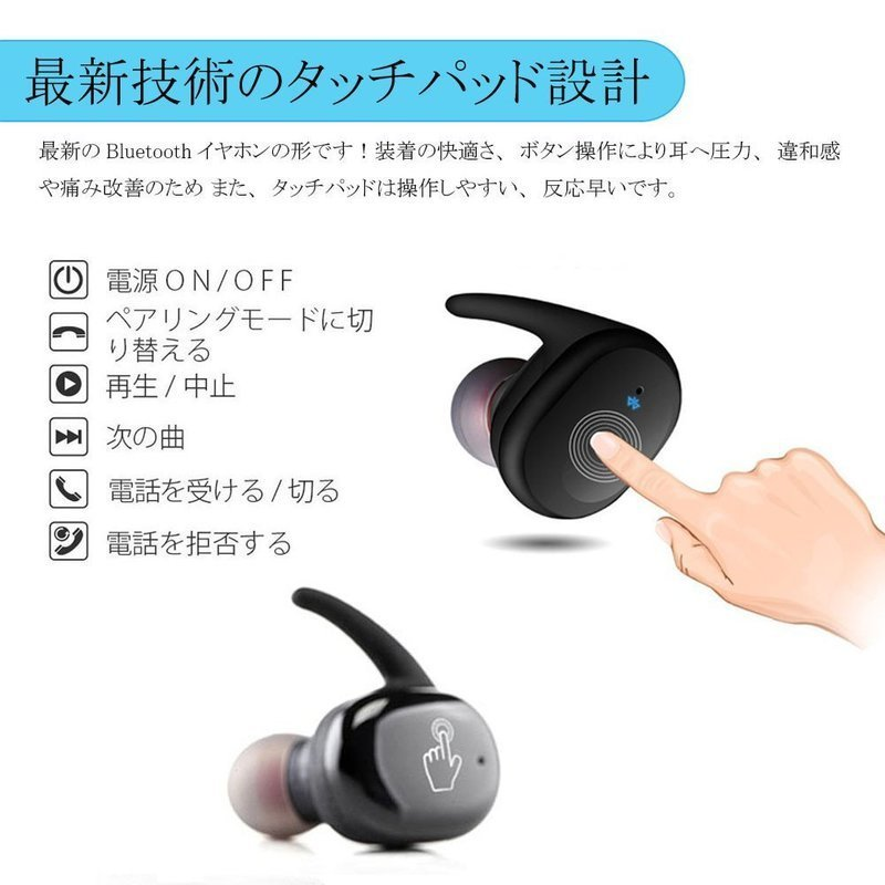 Bluetoothイヤホン の2つ目の商品画像