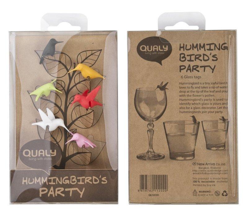 グラスマーカー Hummingbird's Party 09000800の2つ目の商品画像