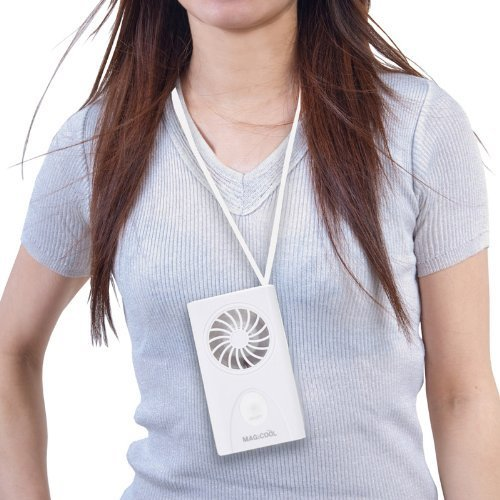 携帯型(首かけ)扇風機 マイファンモバイル DMFM-W1の2つ目の商品画像