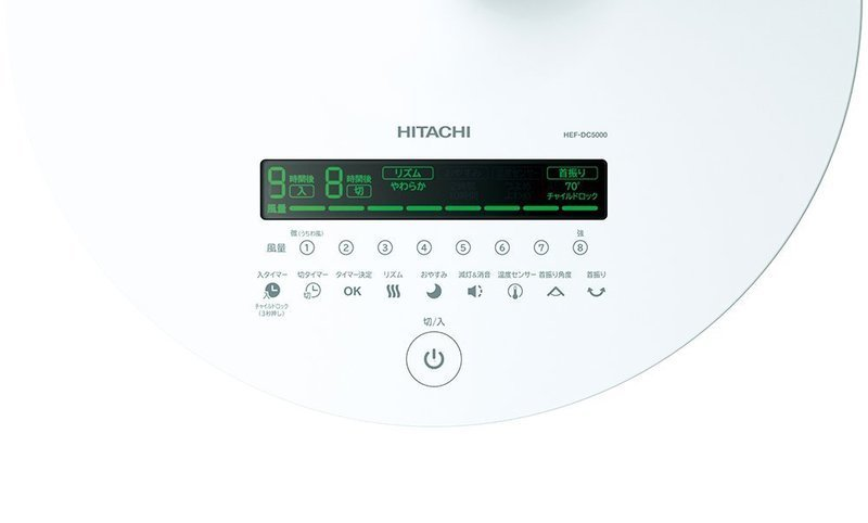 DCモーター扇風機 HEF-DC5000の2つ目の商品画像