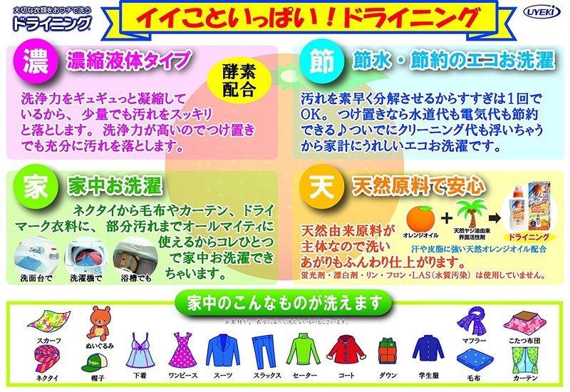 ドライニング 衣類用液体洗剤 の2つ目の商品画像