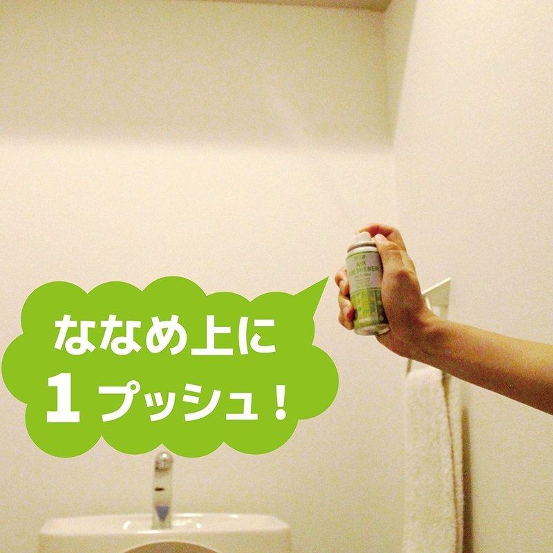 1プッシュで瞬間消臭 トイレのニオイがなくなるスプレー の2つ目の商品画像