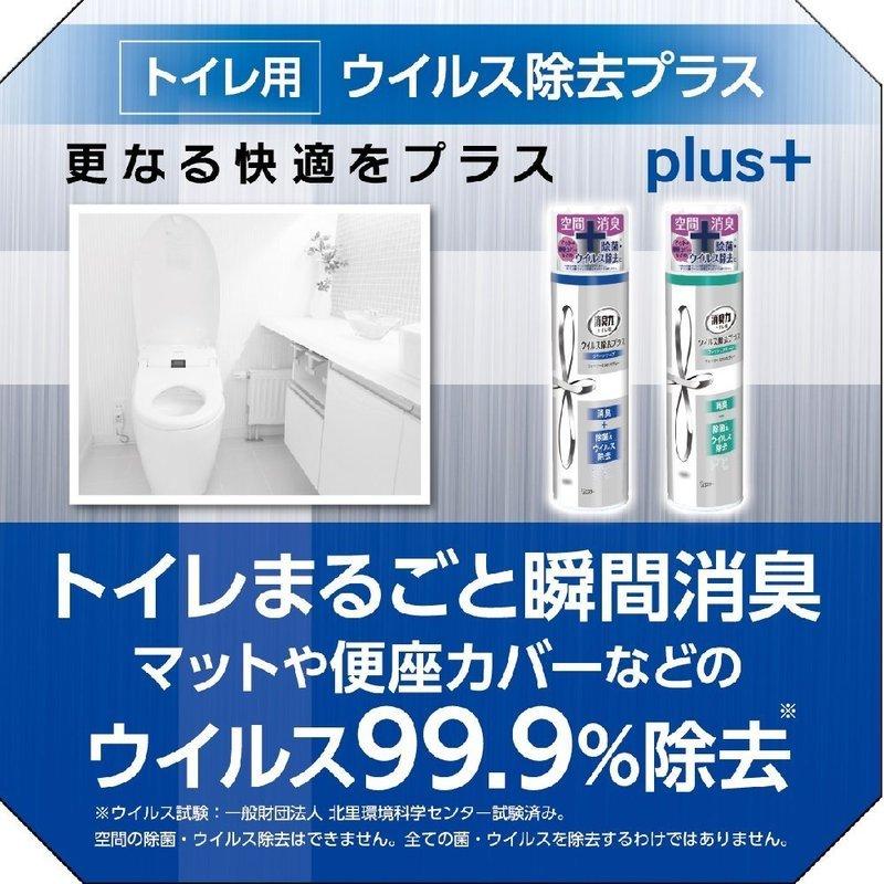 トイレの消臭力スプレー ウイルス除去プラス の2つ目の商品画像
