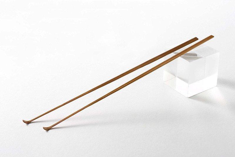 匠の技 最高級天然煤竹(すすたけ)耳かき 2本組み G-2153の2つ目の商品画像