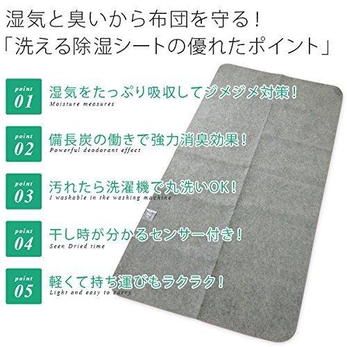 洗える除湿シート 備長炭入り 210-90LCの2つ目の商品画像