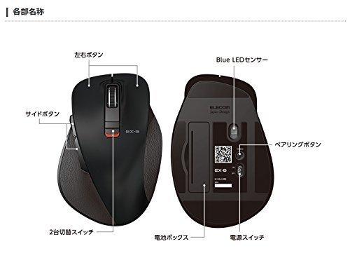 EX-G ワイヤレスマウス M-XGL10BBBKの2つ目の商品画像