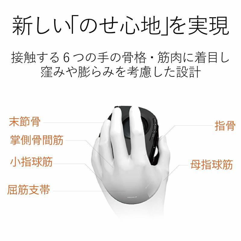ワイヤレストラックボール(左手親指タイプ) M-XT4DRBKの2つ目の商品画像