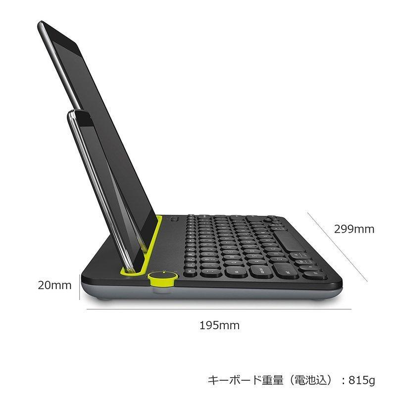 Bluetooth ワイヤレス キーボード K480の2つ目の商品画像