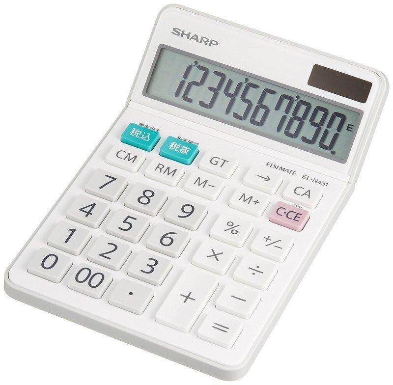 電卓 EL-N431-Xの2つ目の商品画像