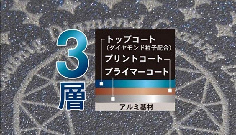 驚きの軽さ ブルーダイヤモンドコートフライパン HB-2018 の3つ目の商品画像