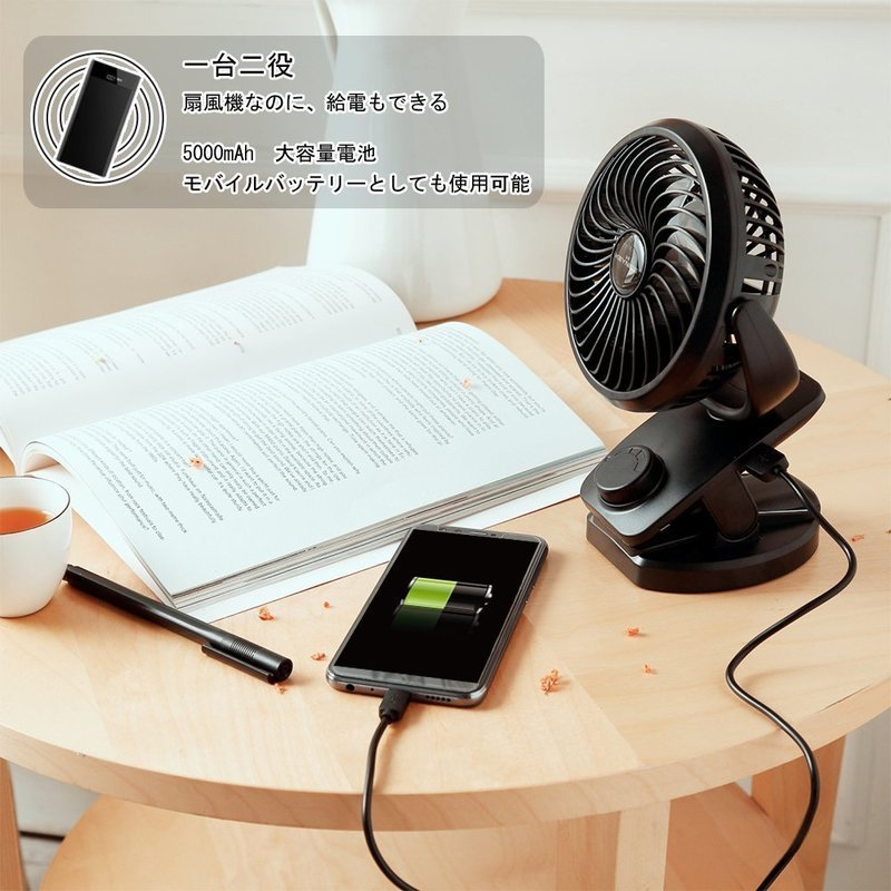 USB扇風機 の3つ目の商品画像