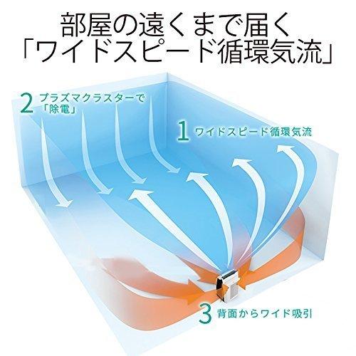加湿空気清浄機 プレミアムモデル KI-GX75の3つ目の商品画像