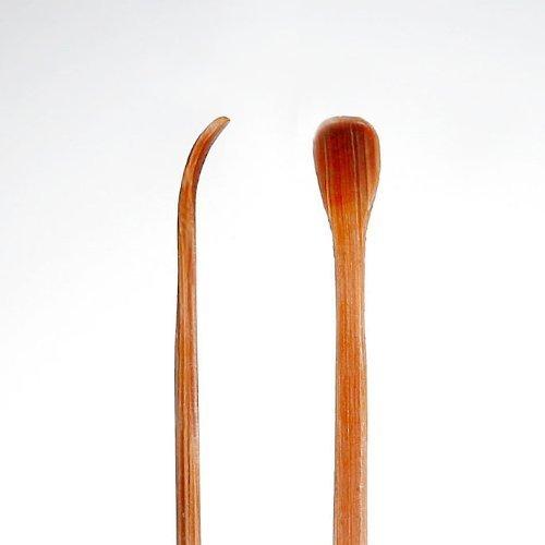 匠の技 最高級天然煤竹(すすたけ)耳かき 2本組み G-2153の3つ目の商品画像