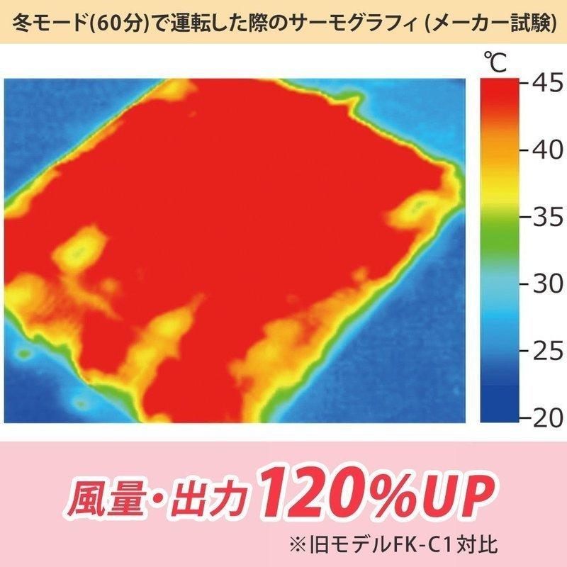 布団乾燥機 カラリエ FK-C2-WPの3つ目の商品画像