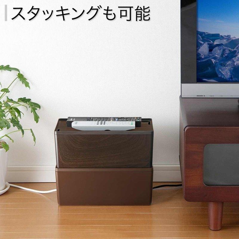 木目柄ケーブルボックス 200-CB001Mの3つ目の商品画像