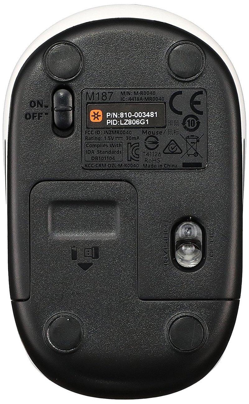 ワイヤレス ミニマウス M187の3つ目の商品画像