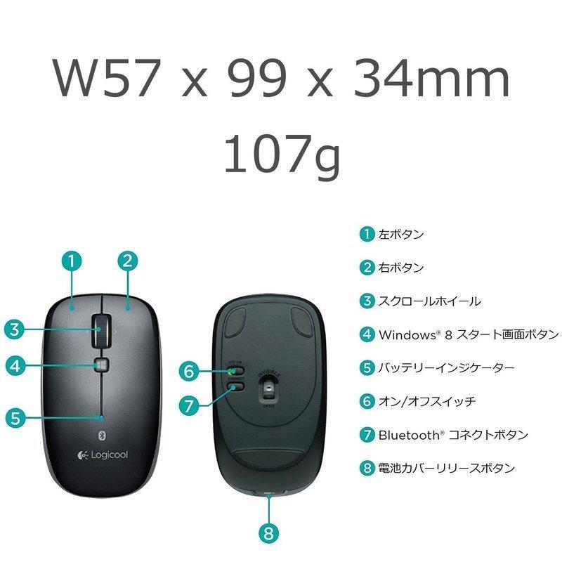 Bluetoothマウス M557の3つ目の商品画像