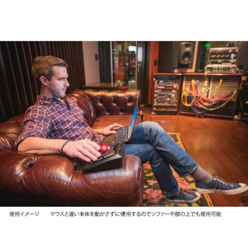 ExpertMouse ワイヤレストラックボール K72359JPの3つ目の商品画像