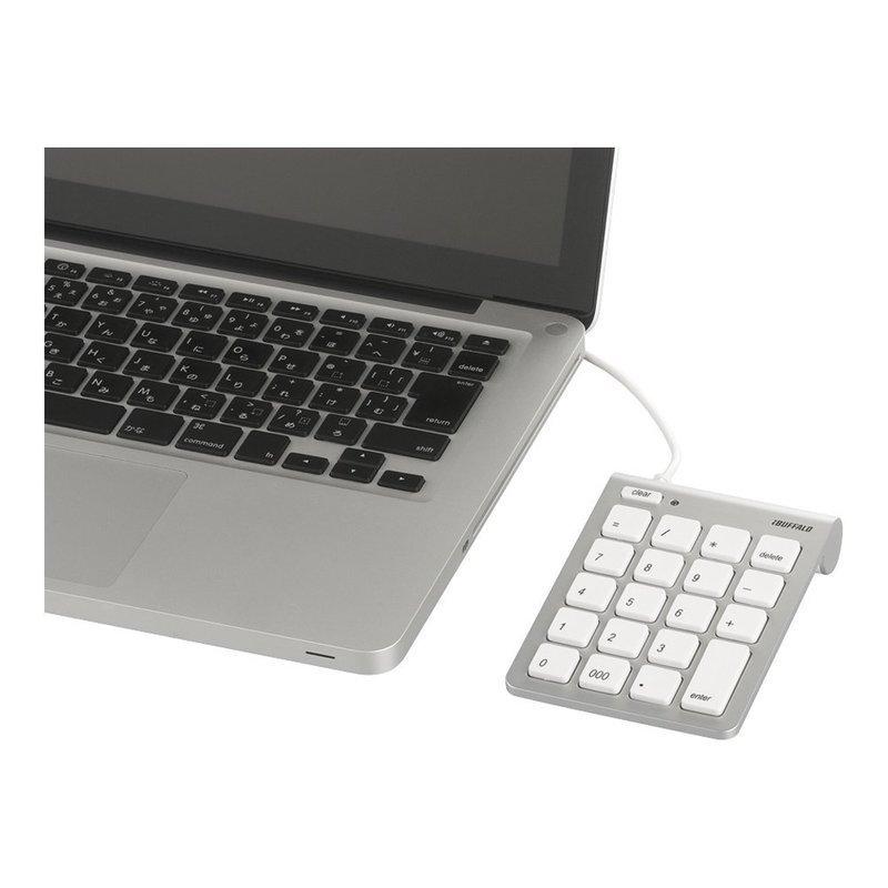 iBUFFALO テンキーボード BSTK08MSVの3つ目の商品画像